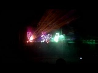 Панорамное #свадебное #лазерное #шоу СУПЕР! КРАСОТА! Работа компании #Laser Artist www.laserartist.ru