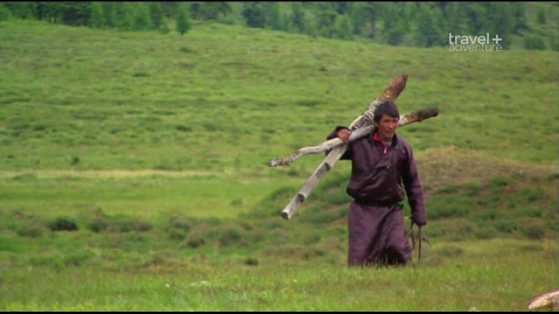 Путешествие на край света с Артом Вольфом: 24 серия. Монголия - Горы и степи