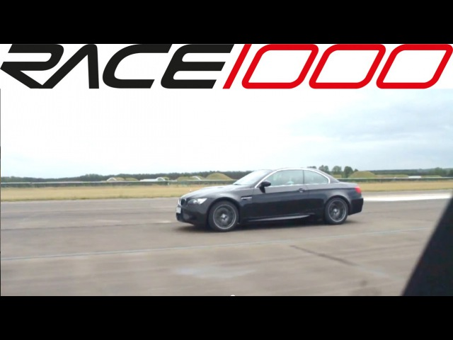 Mercedes C63 AMG killed BMW M3 E93 (60-250kmh) - ROLL RACE