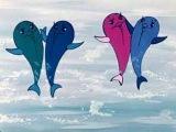 ♫ Дельфины песня. В порту | Детские песни из мультфильмов (with Subtitles)