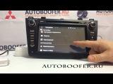 Видеообзор штатной автомагнитолы для Mazda 3 (Android 4.4.4)