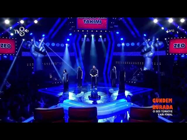 Zeo Jaweed Kabus Özgecan Aslan anısına O Ses Türkiye 17 Şubat Yarı Final HD