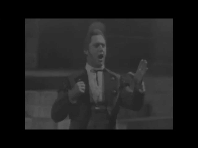Sesto Bruscantini - Largo al factotum - Rare Video (1964)