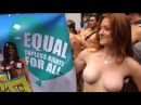 First Annual Go Topless Pride Parade NYC 2014
