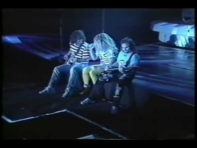 Van Halen - Live At Tokyo Dome, Japan 1989 [Full Concert]