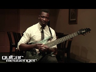 Tosin Abasi - Animals As Leaders: GuitarMessenger.com Masterclass Part 2 (Tempting Time)