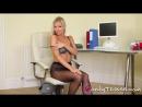 Pantyhose, Silky Fetish ∞ Blanka sexy secretary, фетиш, секс, девушки
