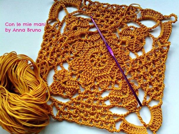 Пастила рукоделие вязание крючком