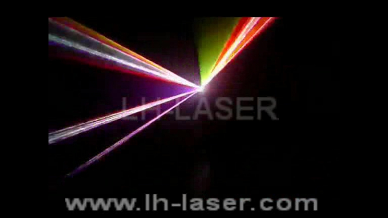 LH-RGB 230 1.2W 3D laser with SD Card
