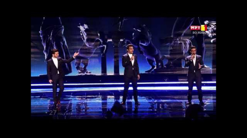 Il Volo - Grande amore (ITALY) Eurovision 2015: GRAND FINAL