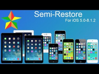 How to use Semi-Restore for iOS 5.0 - 8.4