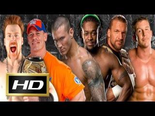 WWE Elimination Chamber (2015) Four's Raw Elimination Chamber Match 720p HD - John Cena