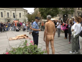 Naked Slow Walk Zagreb