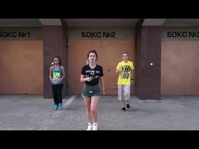Учим простые движения флеш моба (dance tutorial) на премьеру Шаг вперед -5