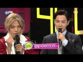 150913 Jun Jin (전진) - Interview @ 인기가요 Inkigayo [1080p]