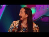 Steve Aoki cakes a fan - Never Mind the Buzzcocks Series 28 Episode 11 Preview - BBC Two