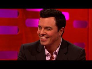 Seth MacFarlane performs his Family Guy voices - The Graham Norton Show: Series 15 - BBC One
