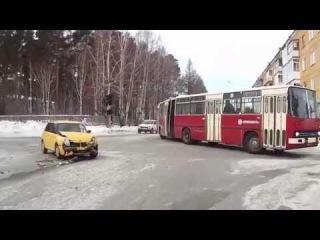 ДТП Васильева - Дзержинского, Снежинск 21 января 2015