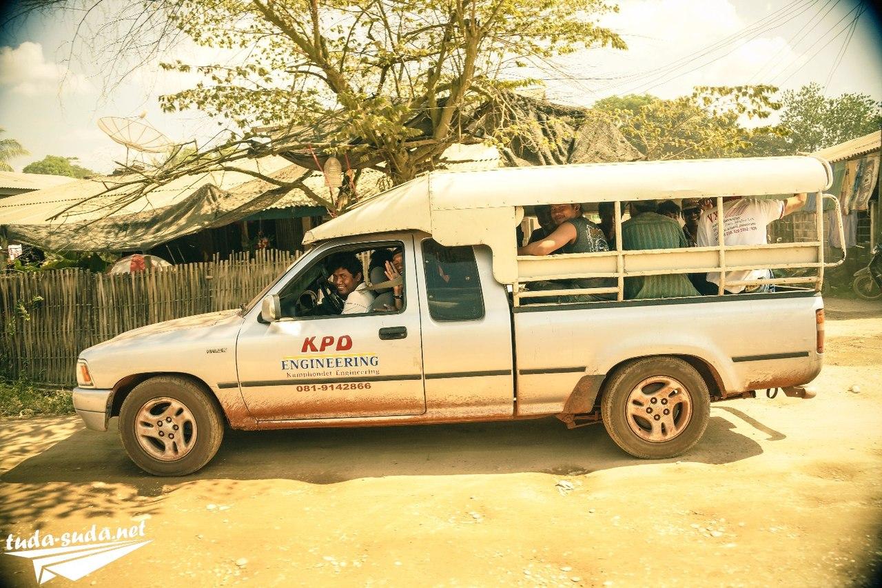 Транспорт Лаос фото