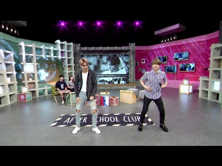 150623 EXO Baekhyun #Kai @ After School Club BTS