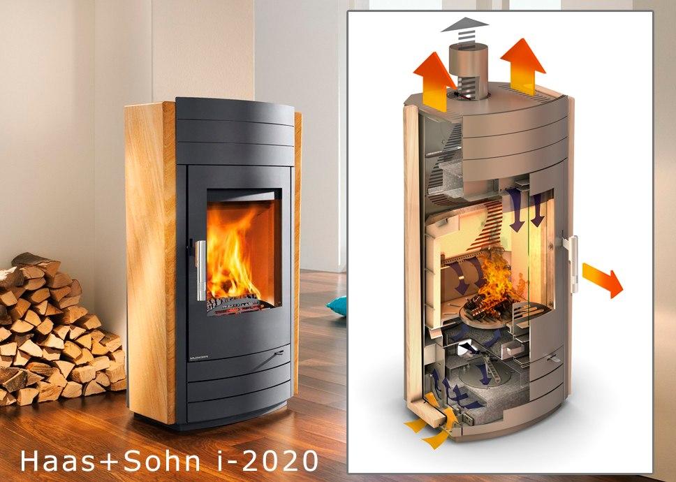печь-камин haas + sohn premium