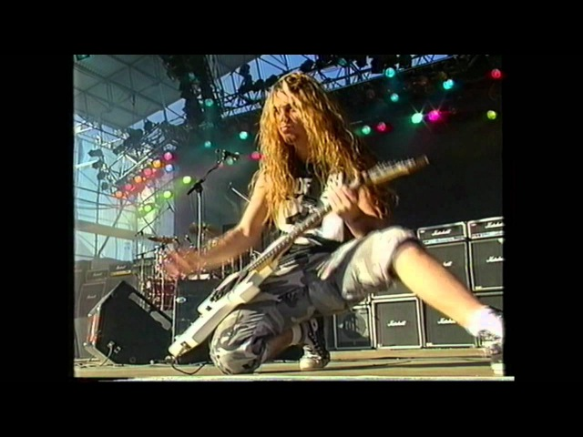 Sepultura Desperate Cry Live HD Finland 91