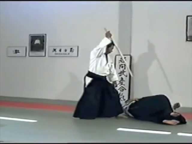 Morihiro Saito Sensei Tachi Dori