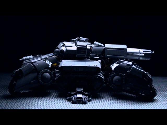 Starcraft Lego Technic Siege Tank
