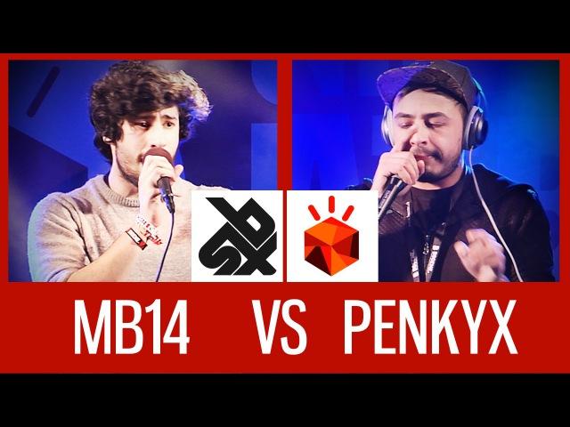 MB14 (FRA) vs PENKYX (BEL)   Grand Beatbox LOOPSTATION Battle 15   12 Final