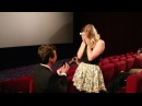 Aussie guy proposes to girlfriend in packed cinema Best wedding proposal EVER