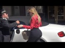 X17 EXCLUSIVE Khloe Kardashian Shows Off Incredible Curves At Saks