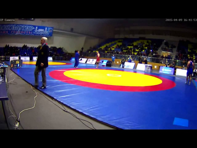 Александр Хоцяновский - Ален Засеев. 125 кг - финал ЧУ-2015