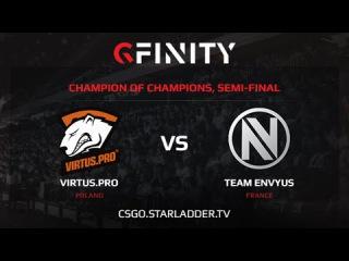 EnVyUs vs  VP, Gfinity 2015, Semi final , map 1 train
