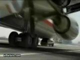 Airplane landed on the trassaСамолёт сел на трассу