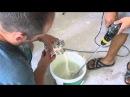 Как клеить флизелиновые обои часть 2