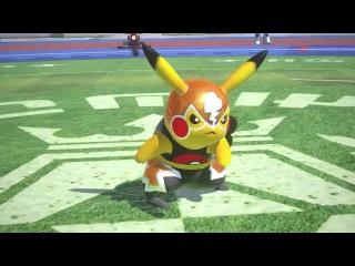 POKKÉN Tournament - Pikachu Libre Trailer - Wii U [ HD ]