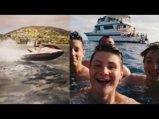 DER COOLSTE TAG! YouTube Yacht Party + Jetski Action   Dner in Kalifornien #4