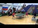 Виктория Кандыбина - Му Цзин Юй. Российско - Китайские Игры. Настольный теннис.