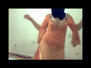 Indian desi Girl Dance with Hot Arabic Music Live