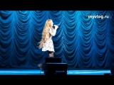Ксения Бракунова - Эта песня простая (Гастроли Голос Дети 2015) ..(12)..
