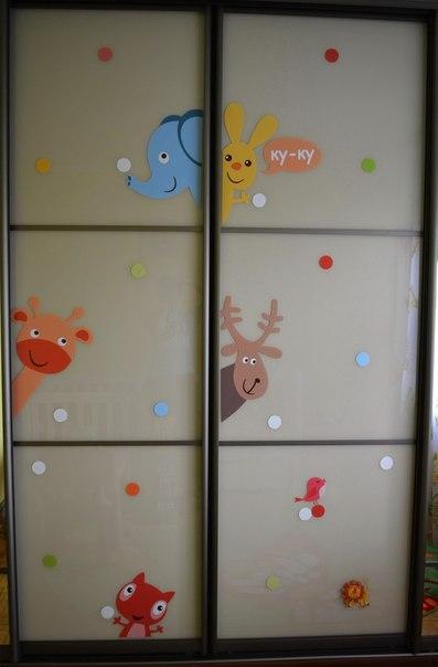фото клиентов DesignStickers наклейка на мебель детские