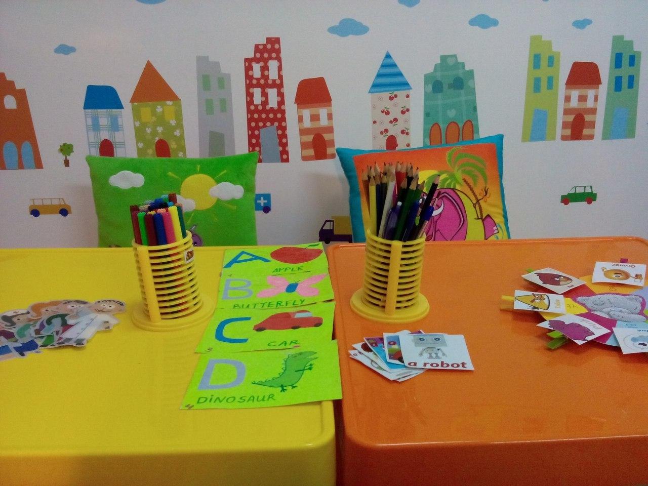 оформление стен в детском саду фото