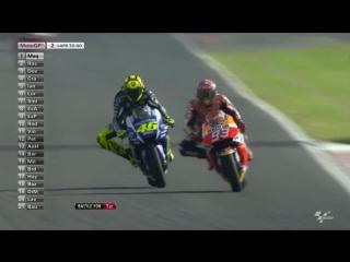 #MotoGP #ArgentinaGP - последние 5 минут: Росси против Маркеса