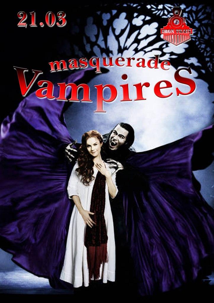 Афиша Пятигорск 21.03/Masquerade... Vampire/Party-Quest/IT/
