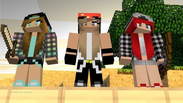 Скины для девушек Minecraft - mineisone.ru