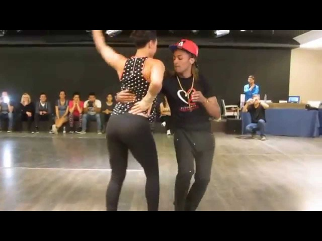 LOVES KIZOMBA 2015: Morenasso Sensualonda Anais Millon semba workshop