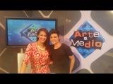 Entrevista a Abraham Mateo y Habla de sus Fans en el programas Arte y Medio