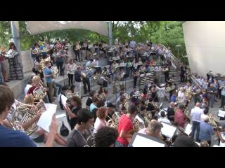 French Horn Flash Mob - IHS 47 LA
