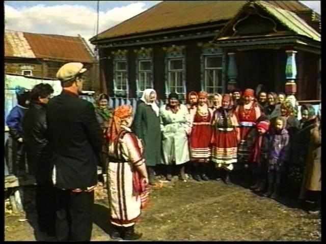 Мордовская свадьба село Вышелей Мировая деревня