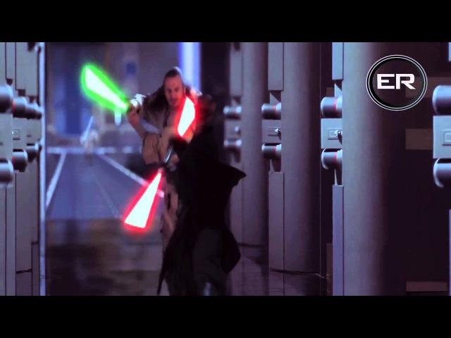 Obi Wan Qui Gon Ginn Vs Darth Maul HD 1080p